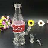 Tubo di acqua di fumo di vetro del narghilé dell'impianto di perforazione della bottiglia della cola di Bontek