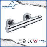 L'ottone dell'acquazzone della stanza da bagno cromato Anti-Scotta il colpetto termostatico (AF4220-7)