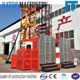 Gru di sollevamento della costruzione Sc200/200 2t del caricamento di prezzi bassi del doppio del materiale popolare della gabbia