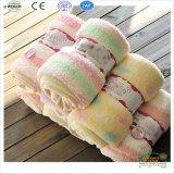 Angga & Julia Бренд Baby Одеяло Твердые цветные детские одеяла с покровными краями