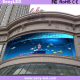 Pantalla de visualización video a todo color al aire libre ahorro de energía de LED del panel de los anuncios (P6)