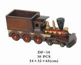 Protótipo rápido modelo de brinquedos de madeira dom da empresa ferroviária