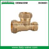 ISO9001 Certificated a compressão forjada bronze que reduz o T (AV7016)