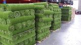 Fábrica artificial de la alfombra de la hierba