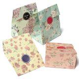 花デザイン印刷紙のギフト袋によってカスタマイズされるデザイン印刷紙のギフト袋の部品の紙袋