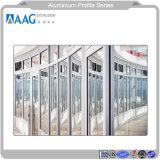 Profilo di alluminio /Extrusion di architettura per la finestra e portello e parete divisoria