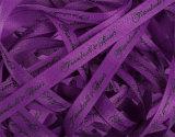 Borde tejido de poliéster de doble cinta de satén Hzx001 (de alta calidad)