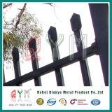 방어적인 말뚝 단철 담 위원회 /Galvanized 강철 말뚝 울타리