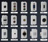 Afzet van de Vloer van de Duw van het koper de Vlakke Glijdende, Pop-up Contactdoos van de Vloer, de Veiligheid van de Keuken lgt-G02