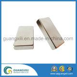 Zinco standard del grado N35 del neo magnete del blocco piantato