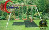 Esteira de borracha da grama para a plataforma ao ar livre gramada do campo de jogos dos locais e como posições propensas da neve gelada