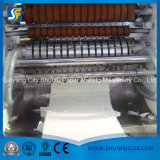 Машина лицевой ткани низкой цены фабрики автоматическая выбитая складывая бумажная
