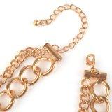 공단과 Chain Braided Big Heart Pendant Necklace (XJW1046)
