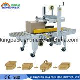 Máquina de embalagem de dobramento de empacotamento do aferidor da selagem da caixa Semi automática da caixa da fita adesiva