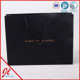 Recyclable роскошный тип напечатал мешок изготовленный на заказ покупкы подарка бумажный с конструкцией логоса