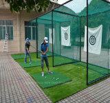 Prática de golfe profissional e gaiola