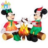 De opblaasbare Koppen van de Koffie van Mickey van Kerstmis van de Kerstman Opblaasbare