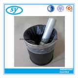 Sac d'ordures en plastique en gros estampé par coutume de HDPE