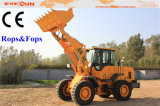 Rops&Fops Cabinの3t Four Wheel Construction Machine Wheel Loader