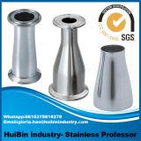 encaixe de tubulação sanitária da solda de extremidade do produto comestível de aço 201 304 inoxidável