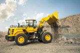 Cargador actualizado a estrenar de la rueda de China Sdlg LG956L L956f para enarenar de la explotación minera de la mina