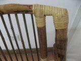 Chaise de jardin extérieure de chaise de pliage de Bamoo de meubles en vente
