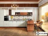 Armadio da cucina di legno UV della mobilia domestica moderna dell'hotel