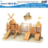 Деревянные Winnower коммерческих игровая площадка для детей деревянные роль играют Hf-17001