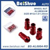 Fabricante Auto Parts tornillos de la rueda de bloqueo definen con clave