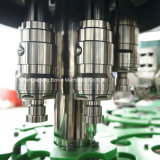Fabbrica di macchina di coperchiamento di riempimento della bevanda gassosa automatica