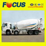 Carro del mezclador concreto del chasis 12m3 14m3 de HOWO con 8X4 que conduce modo