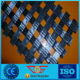 Tricotage chaîne High-Strength 80-30kn/M Polyester biaxes géogrille