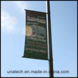 Металлические освещения улиц полюс рекламный баннер флаг система крепления (UNA80)