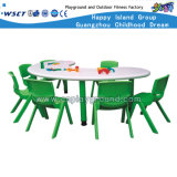 Goedkoopste Kids Plastic Table en Chair voor Sale (hld-2302)