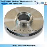 ステンレス鋼の投資鋳造の水ポンプのインペラー