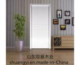 Portes en bois en MDF / PVC de style moderne international pour la construction de maisons