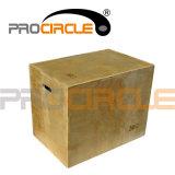 Agilidad de Plyometric que entrena a 3 en 1 caja de Plyometric (PC-PB1002)