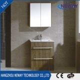 Module en gros de vanité de salle de bains de mélamine avec le miroir