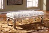 装飾的なミラーが付いている特別な長方形のベッドのベンチ