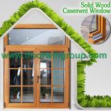 Окно самой последней конструкции алюминиевое деревянное, деревянный алюминиевый наклон/тент/окно хоппера с польностью разделенной светлой решеткой