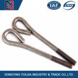 Chinesischer Hersteller J/L/U/v-förmige Basis-Ankerbolzen