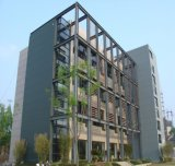 Vorfabriziertes helles Stahlkonstruktion-Bürohaus (KXD-72)