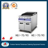 intervallo di gas 4-Burner con la piastra del gas con la griglia del salmerino del gas (HGL-90)