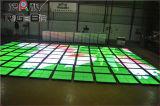 Assoalho de dança desobstruído & impermeável super do diodo emissor de luz, assoalho de dança video