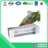 Мешок LDPE HDPE качества еды пластичный плоский на крене