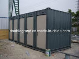 Structure en acier 20FT vivant panneau sandwich conteneurs préfabriqués chambre