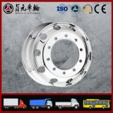 Aluminiumlegierung-Rad der LKW-Bus-Schlussteil-Teile