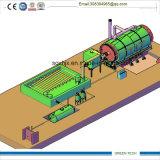 Pyrolyse-Öl zum Dieselaufbereitendestillierapparat der maschinen-10tpd
