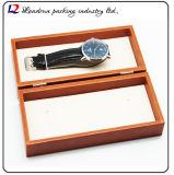 시계 시계 줄 시계 결박 부속품 회중 시계 (Sy034)를 위한 호화스러운 가죽 회중시계 딱지 패킹 전시 저장 상자