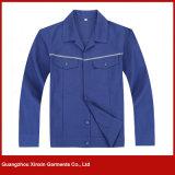 O melhor desgaste do trabalho da segurança do poliéster do algodão da qualidade (W134)